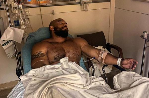 Sergio Oliva jr in hospital
