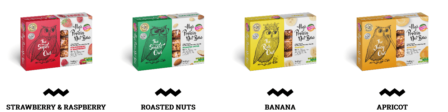 Jannis High Protein Nut bars from Greece - unique high quality nut bars with high level of proteins